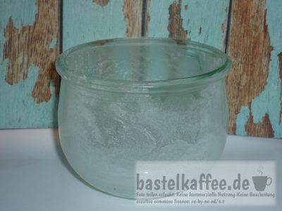 jar with salt crystals