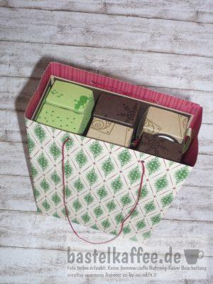 gift bag for mini advent calendar diy