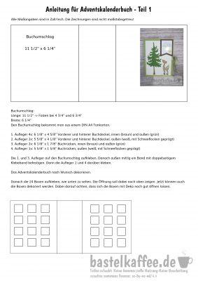 tutorial mini advent calendar book