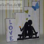DIY Hochzeitsgeschenk aus Holzbalken - DIY wooden beam as a wedding gift