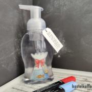 DIY Seifenflasche mit Bild darin