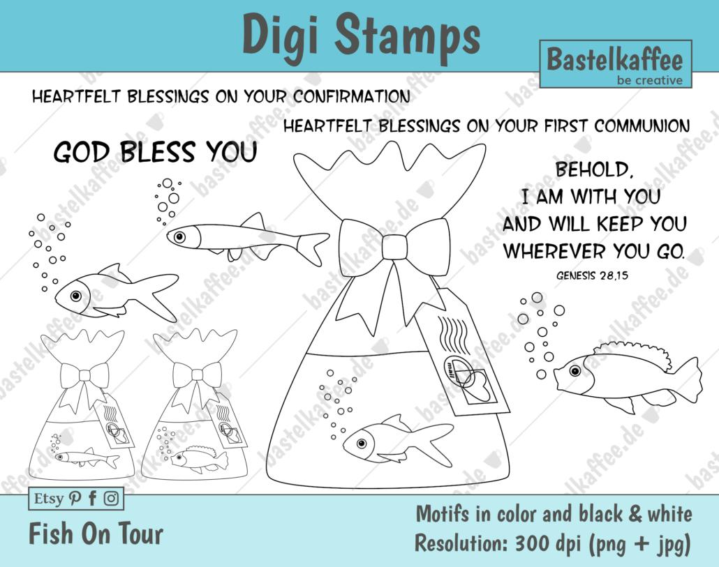 Digi Stamps Set for Confirmation